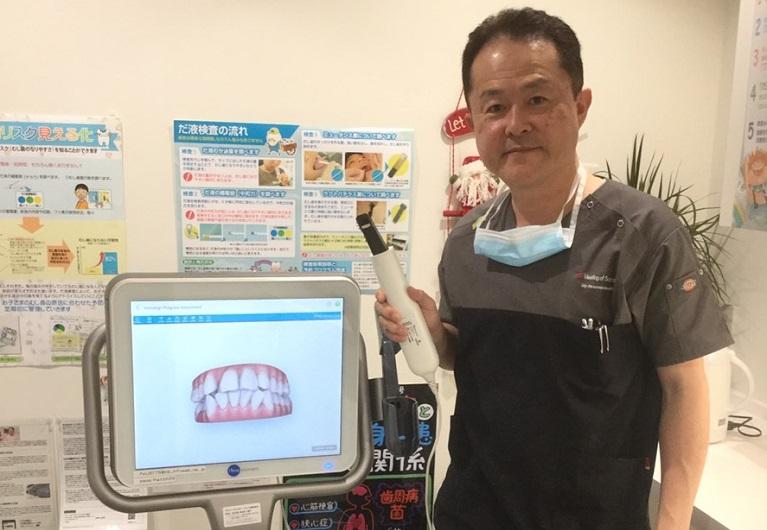 大阪市都島区の歯医者でも数少ない「iTero Element(アイテロ エレメント)」を導入